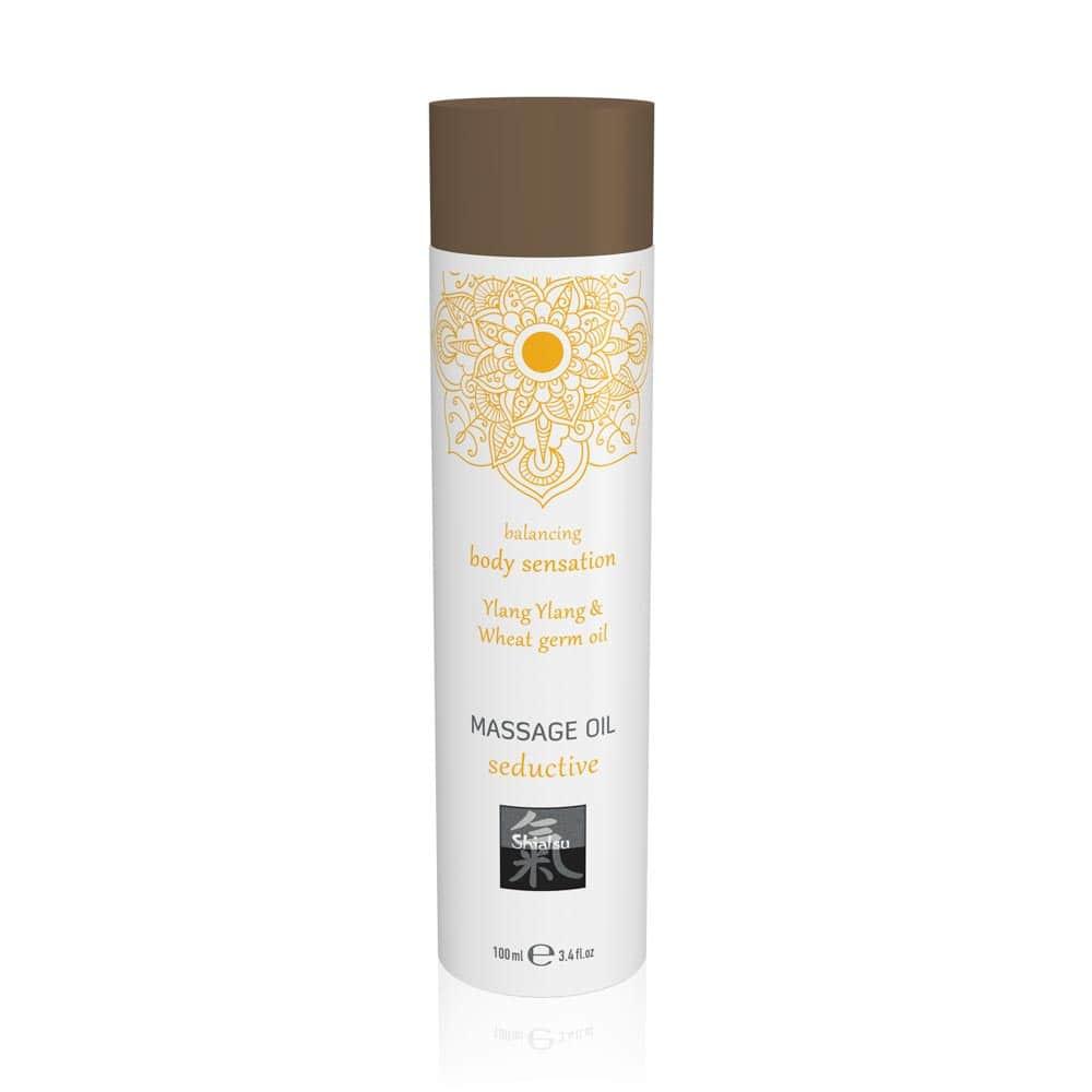 Massage oil seductive - Ylang Ylang & Wheat germ oil 100ml