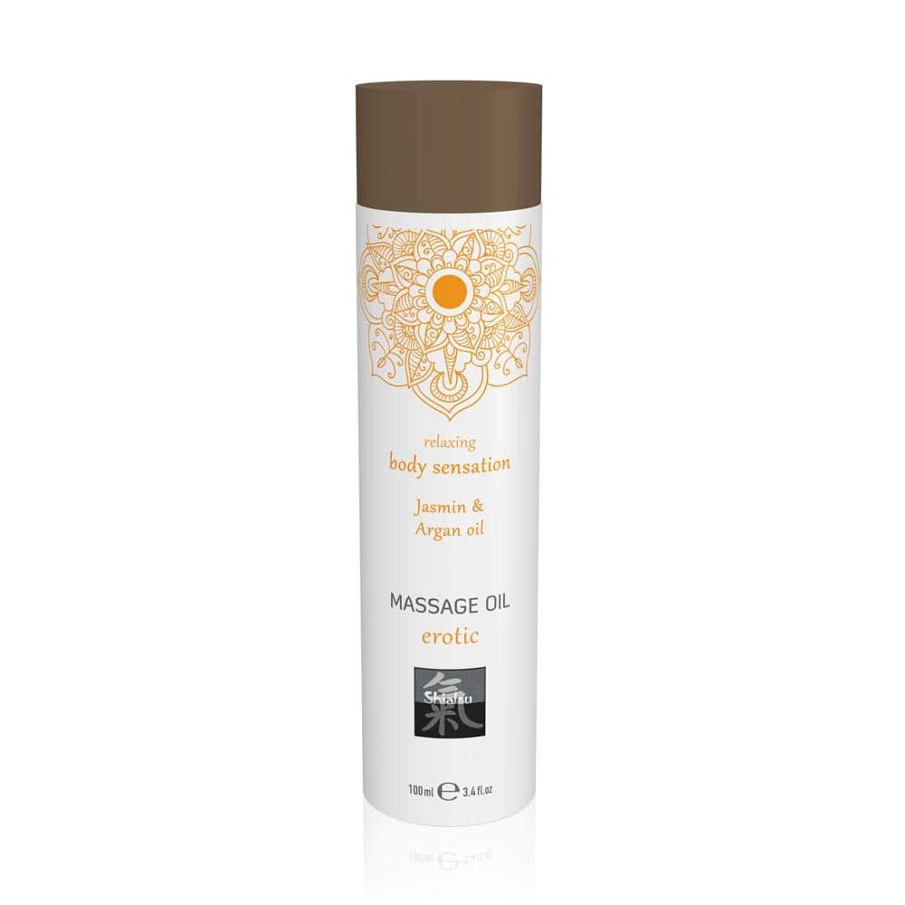 Massage oil erotic - Jasmin & Argan oil 100ml
