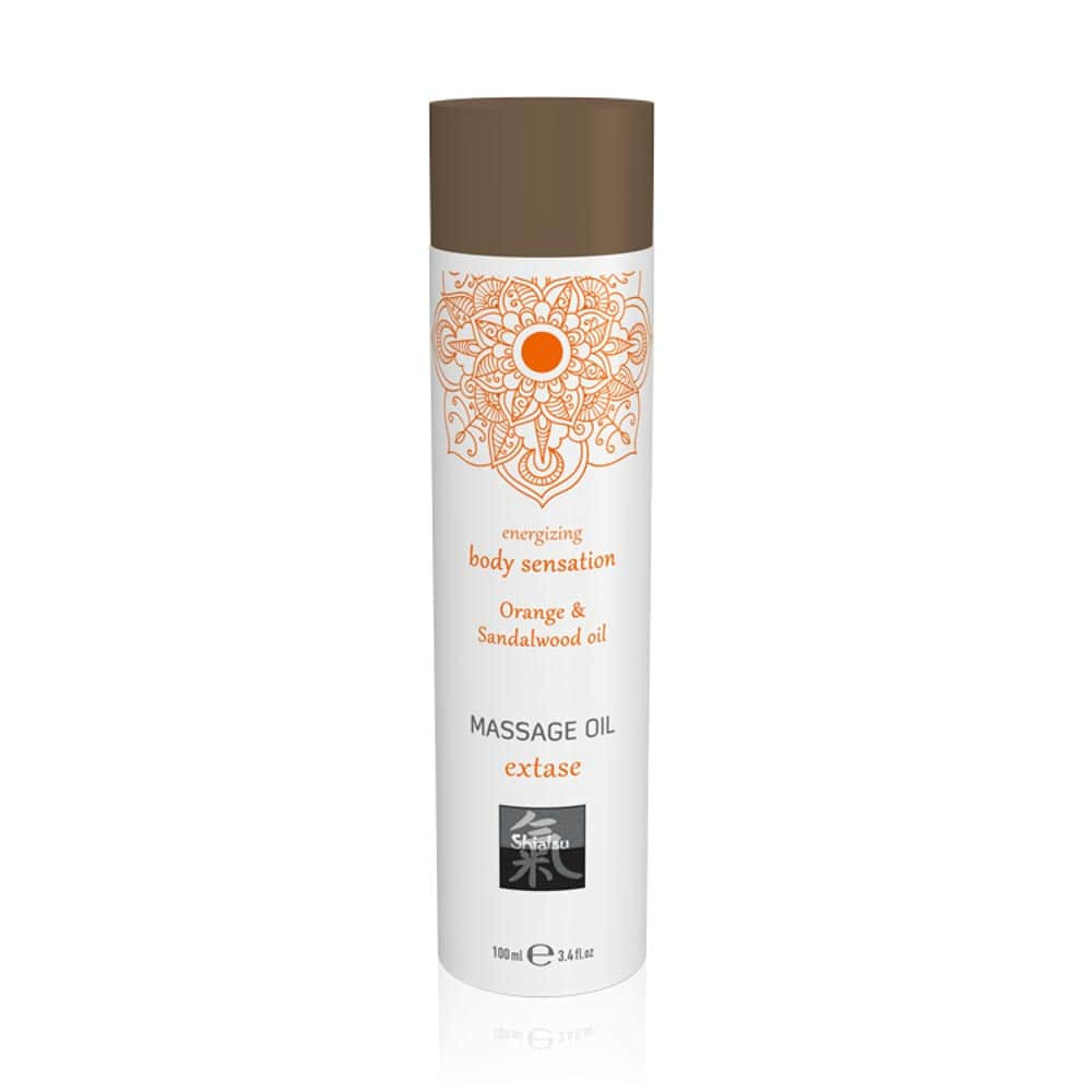 Massage oil extase - Orange & Sandalwood oil 100ml