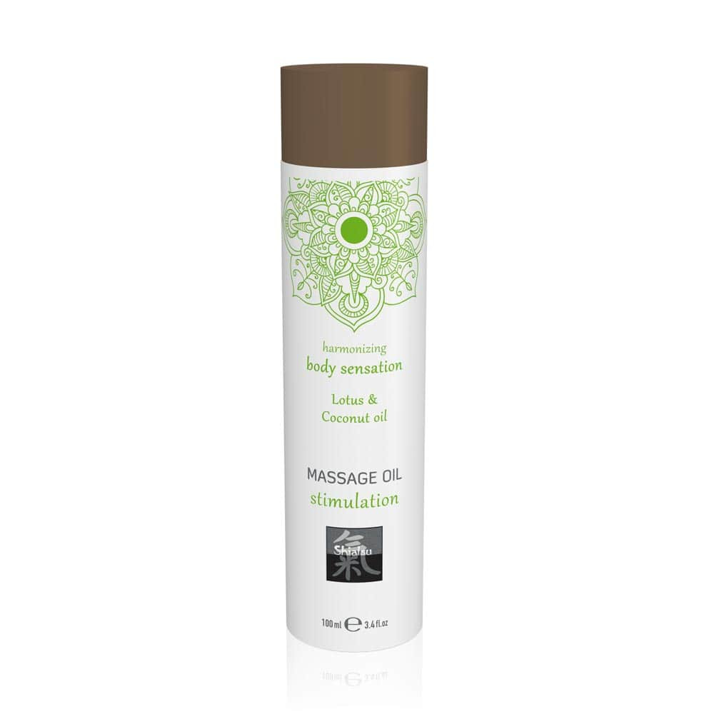 Massage oil stimulation - Lotus & Coconut oil 100ml