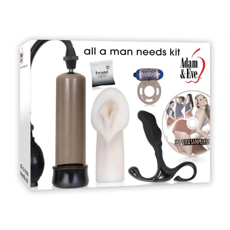 Комплект за мъже, всичко необходимо – All A Man Needs Kit