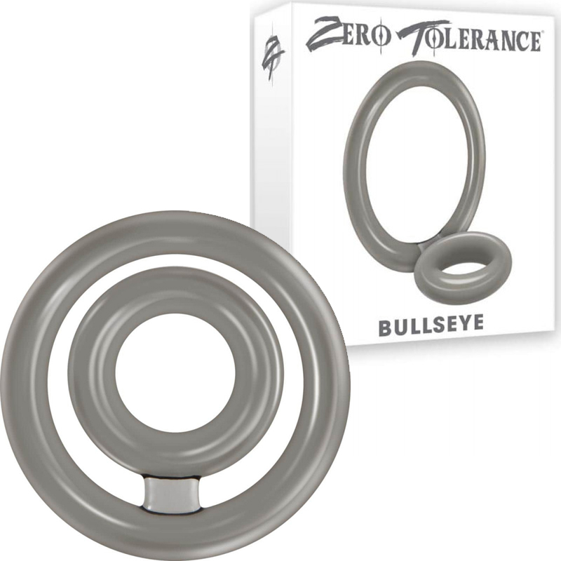 Двоен пенис пръстен, право в целта – Bullseye Double Loop