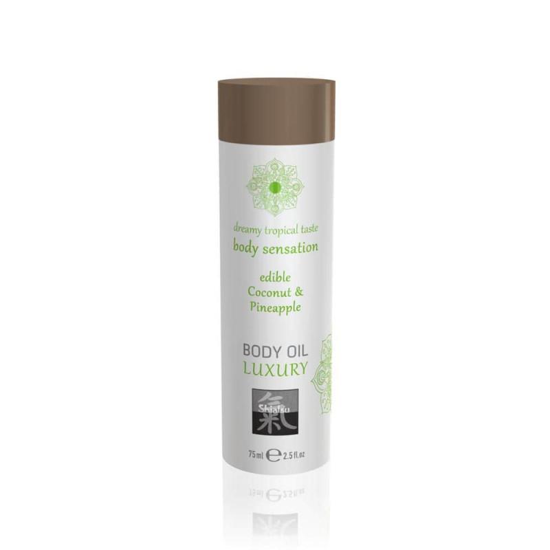 Афродизиак олио за тяло, кокос и ананас – Luxury body oil edible 75ml