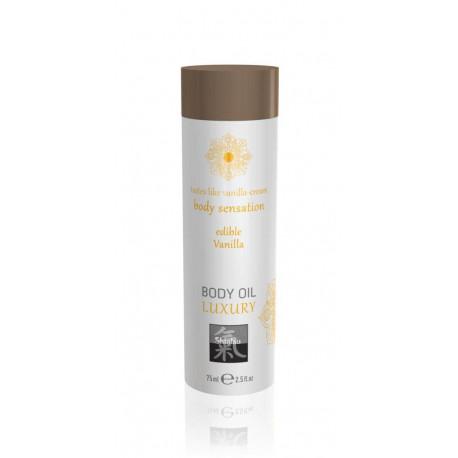 Афродизиак олио за тяло, ванилия – Luxury body oil edible Vanilla 75ml