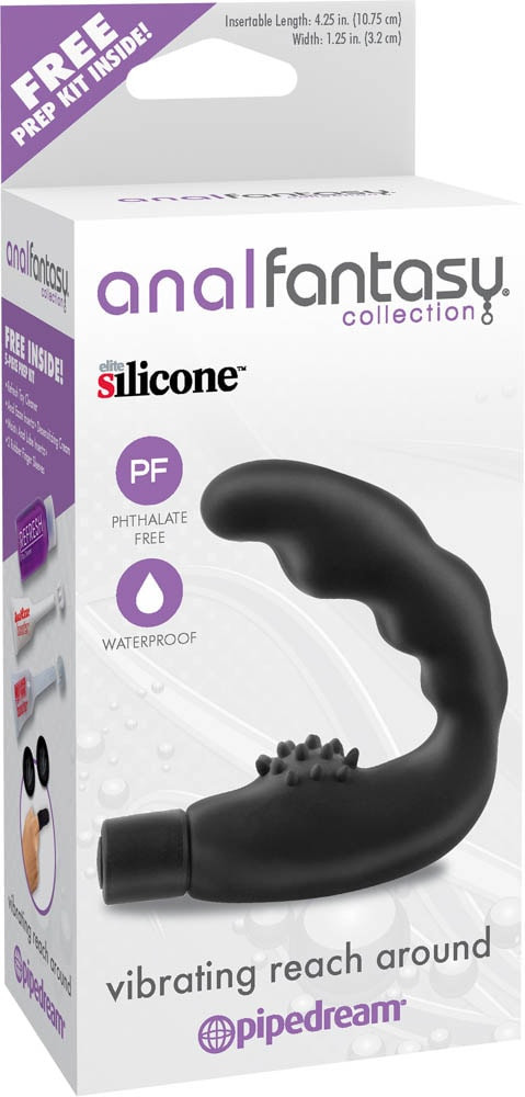 Anal Fantasy Collection Vibrating Reach Around black
