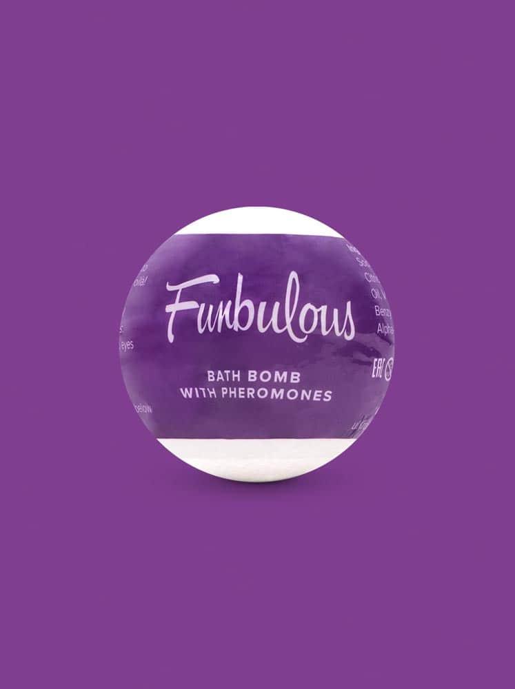 Bath bomb with pheromones Fun