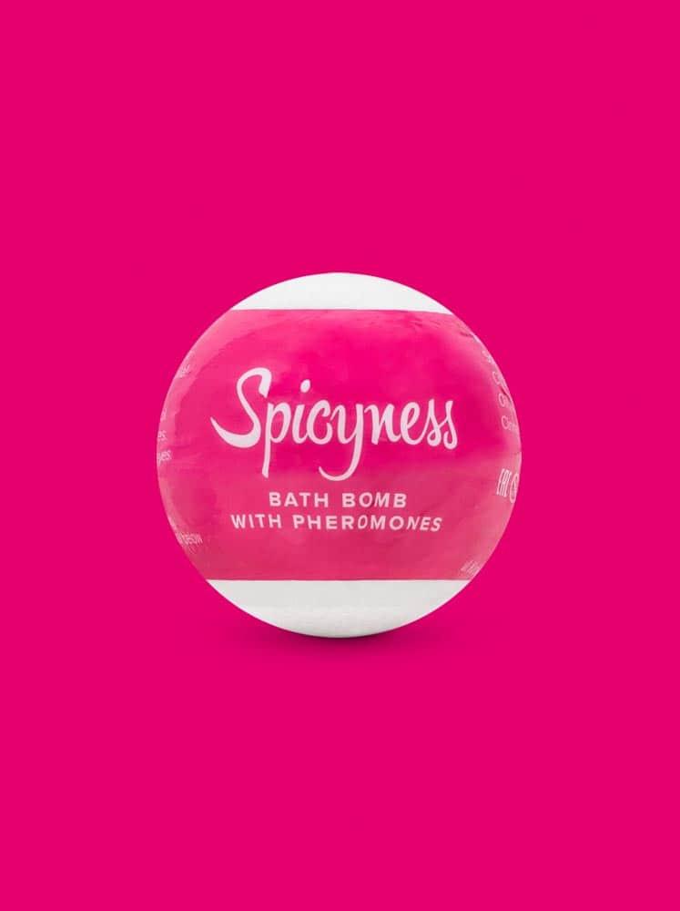 Bath bomb with pheromones Spicy