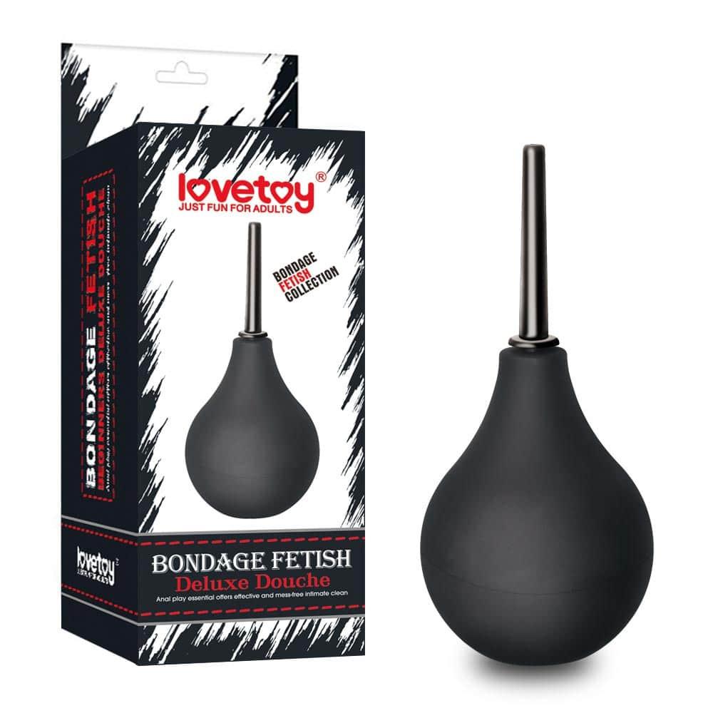 Bondage Fetish Deluxe Douche Black