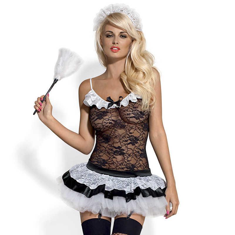 Горещ костюм, мечтана прислужница – Housemaid Costume S/M