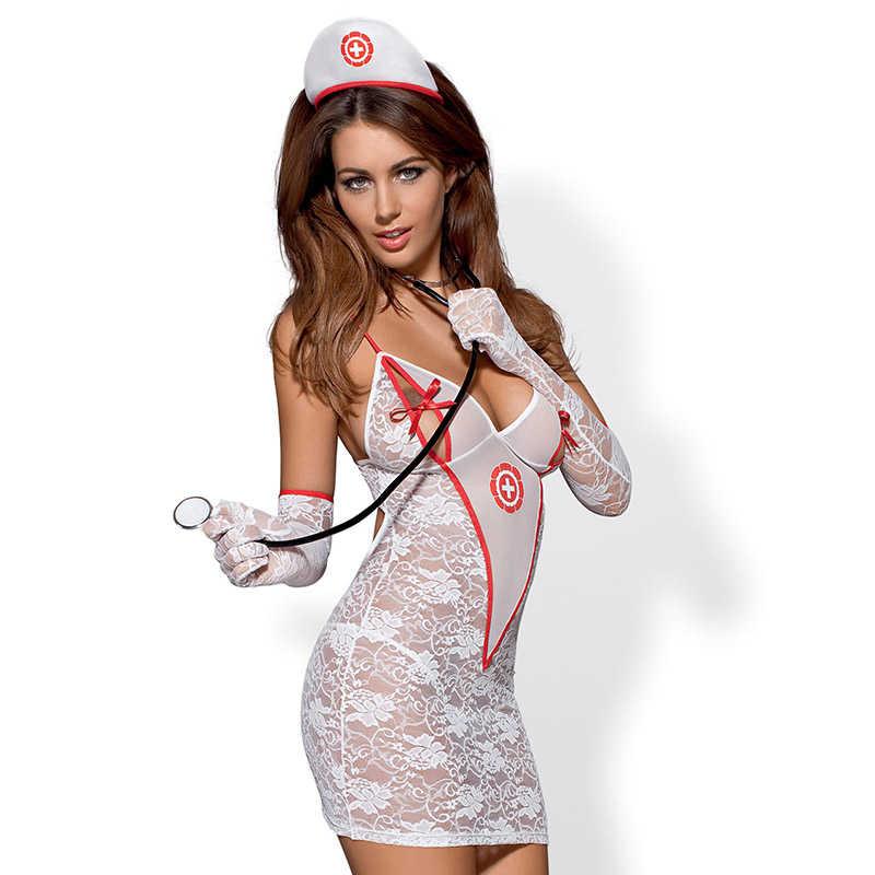 Костюм на медицинска сестра, почувствайте се по-добре – Medica Dress S/M