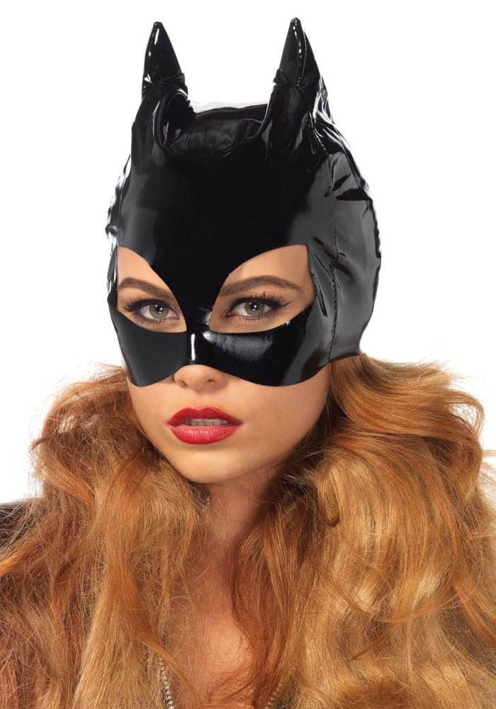 Vinyl Cat Woman Mask