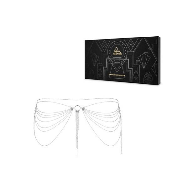 Секси аксесоар за ханш или гърди, бъдете неотразима – Magnifique Waist Jewelry Silver