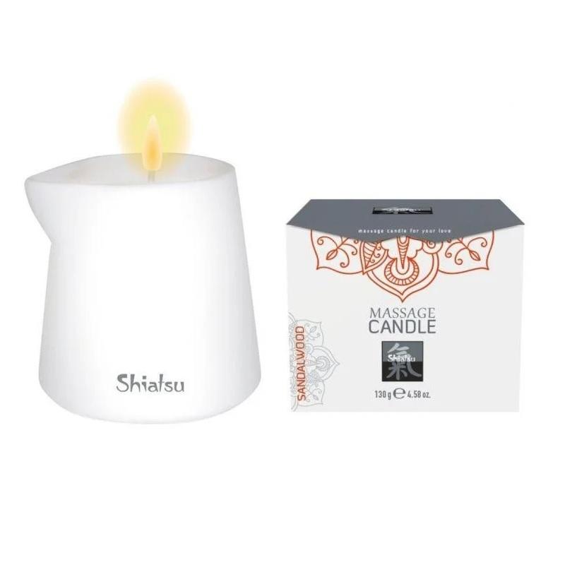 Масажна свещ, аромат на Сандалово дърво – Massage Candle Sandalwood 130g