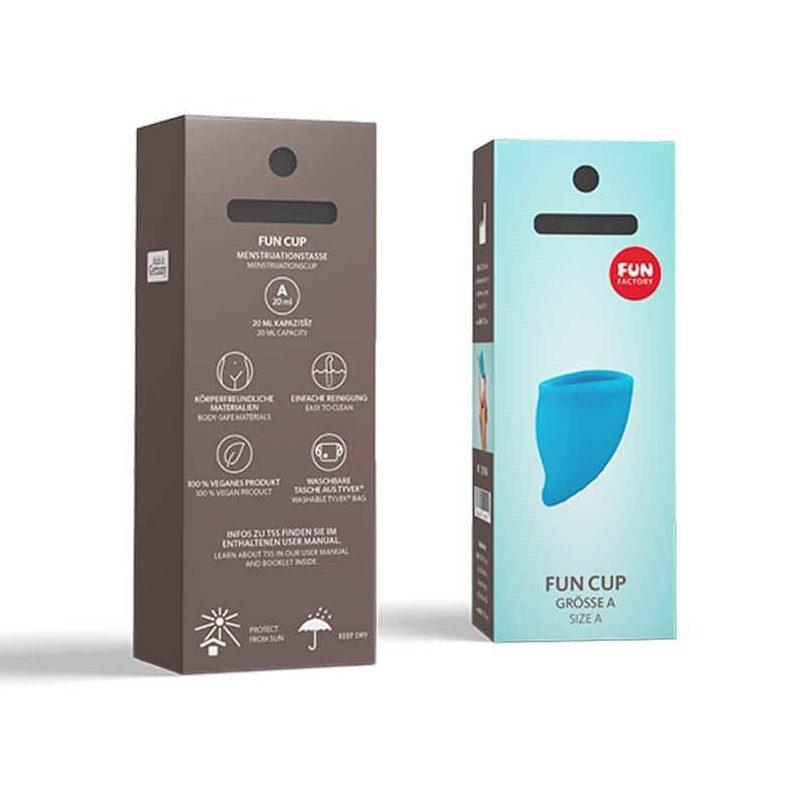 Менструална чашка, размер А – Fun Cup Size A, Turquoise