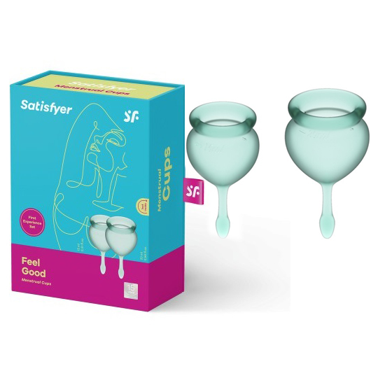 Менструални чашки, чувствай се добре – Menstrual Cup Green