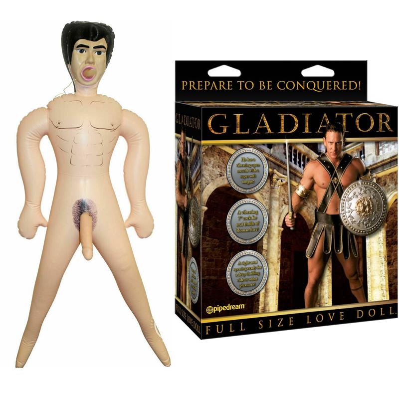 Мъжка секс кукла, Гладиаторът – Gladiator Love Doll