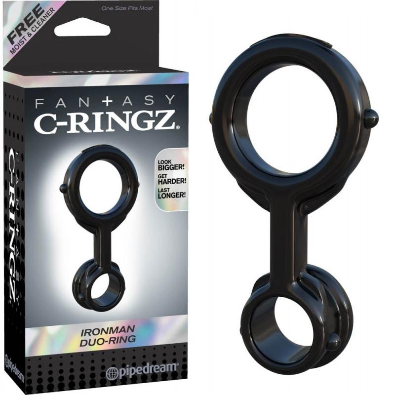 Двоен пенис пръстен, железен мъж – Ironman Duo-Ring