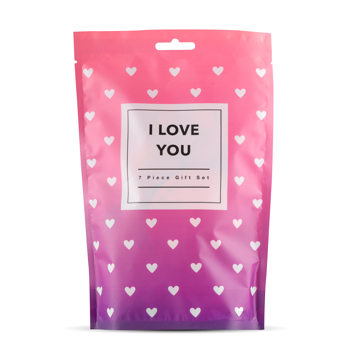 Подаръчен комплект от 7 части, обичам те – I Love You