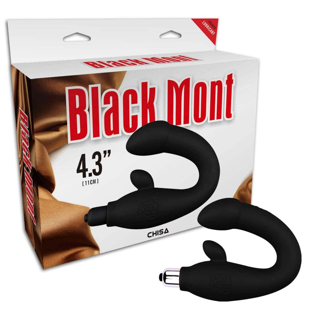 Black Mont P-Spot Perineum Massage-1 - Black