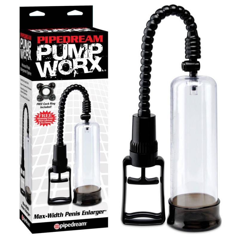 Пенис помпа с максимална ширина – Pump Worx Max-Width