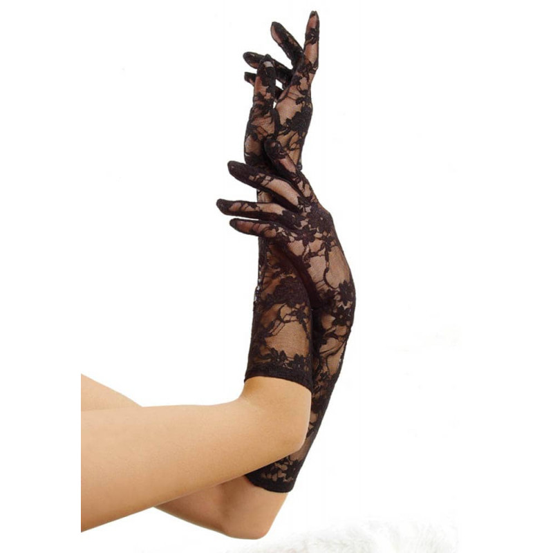 Елегантни сатенени ръкавици – Elbow Stretch Gloves