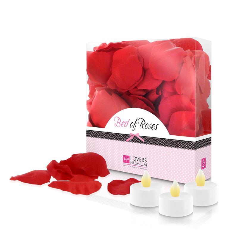 Листенца от рози и свещи – Rose Petals Red