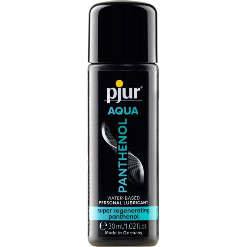 Лубрикант на водна основа с пантенол – pjur AQUA Panthenol Bottle 30ml