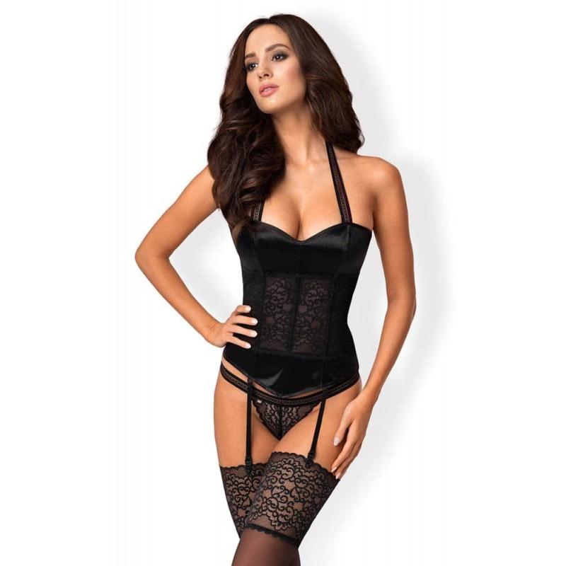 Комплект, корсет и прашки – Ailay corset & thong S/M