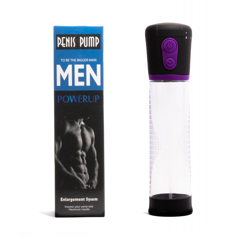 Автоматична пенис помпа – Automatic Penis Pump, Purple