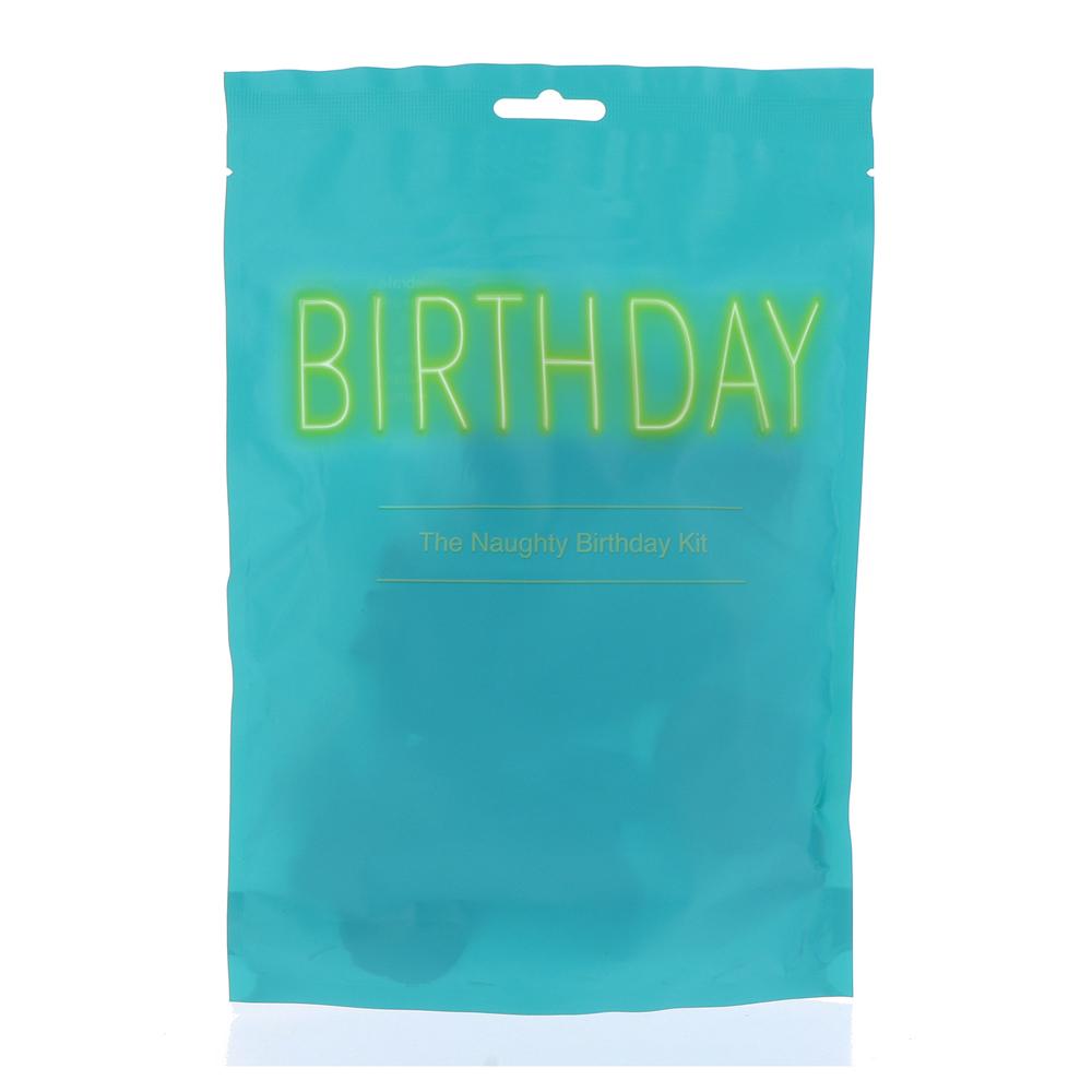 Комплект, подарък за рожден ден – The Naughty Birthday Kit