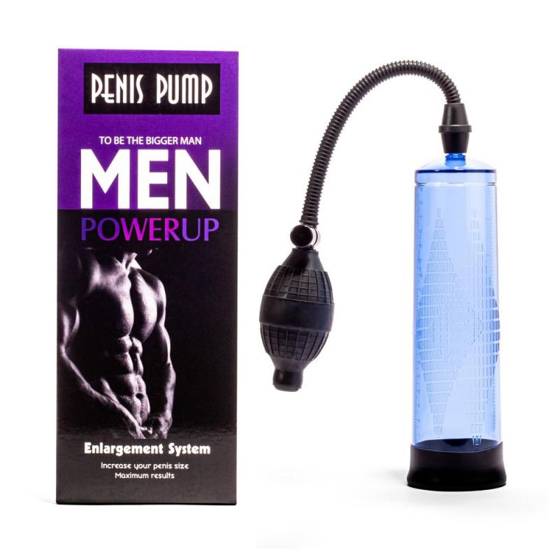 Вакуумна пенис помпа – Penis Pump, Blue #1