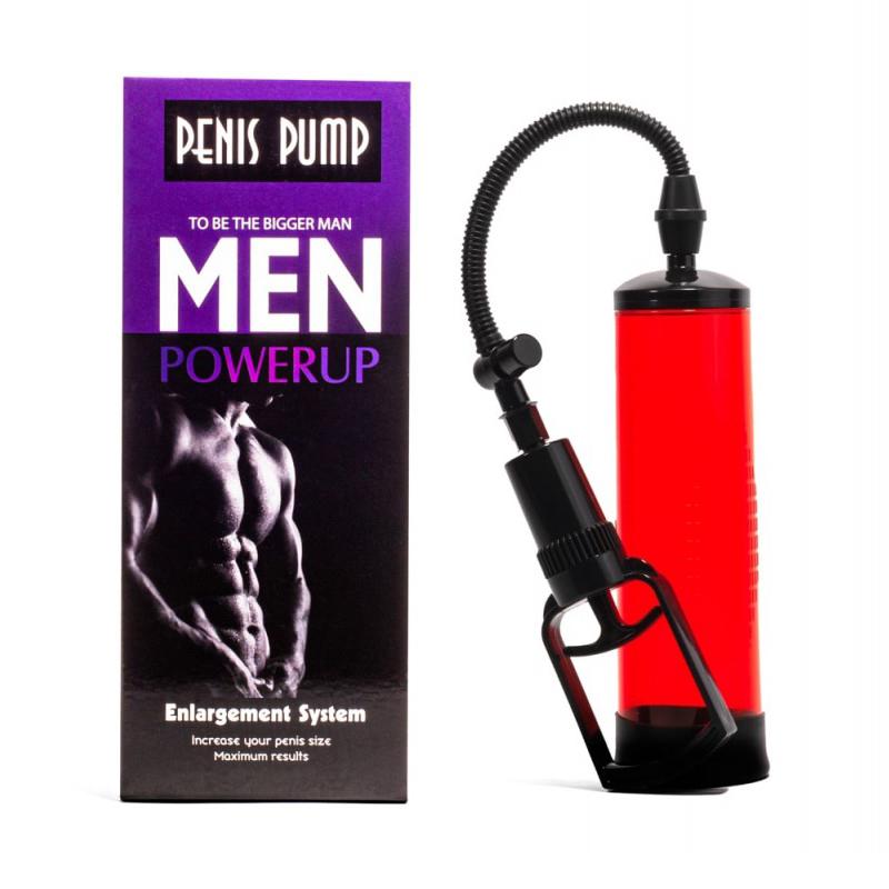 Пенис помпа за мъжка мощ – Penis Pump, Red