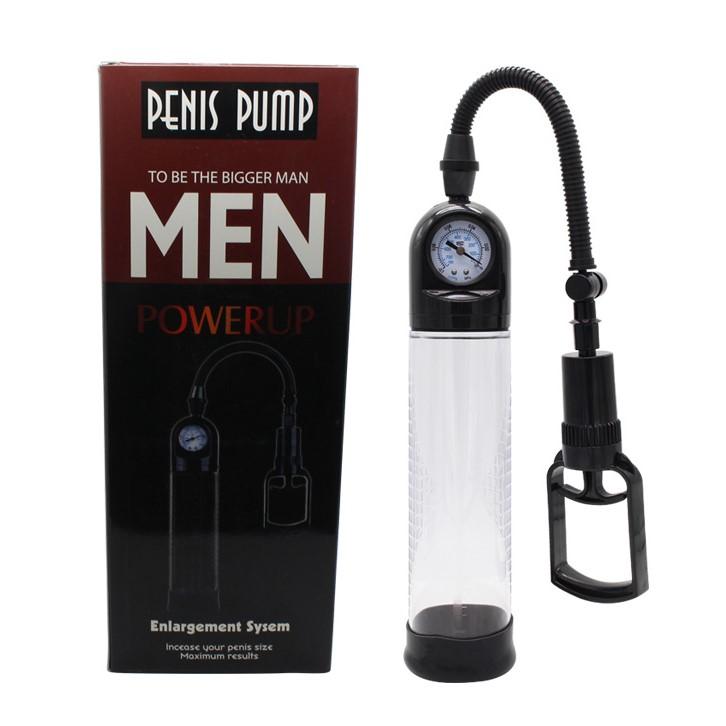 Вакуумна пенис помпа с манометър – Manual Penis Pump