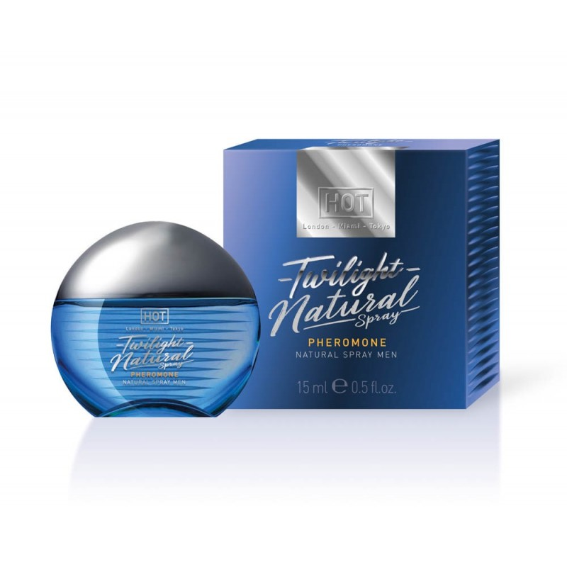 Спрей с феромони за мъже, натурален – HOT Twilight Pheromone 15ml