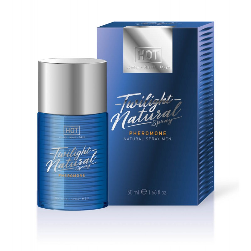 Спрей с феромони за мъже, натурален – HOT Twilight Pheromone 50ml