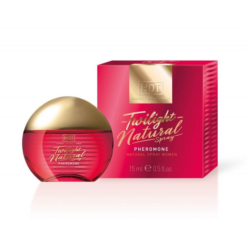 Спрей с феромони за жени, натурален – HOT Twilight Pheromone 15ml