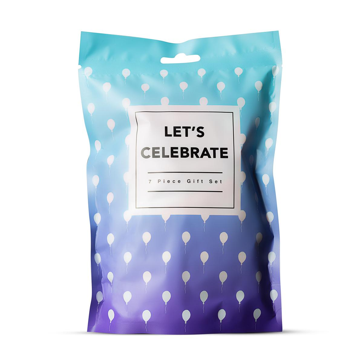 Подаръчен комплект от 7 части, нека празнуваме – Let's Celebrate