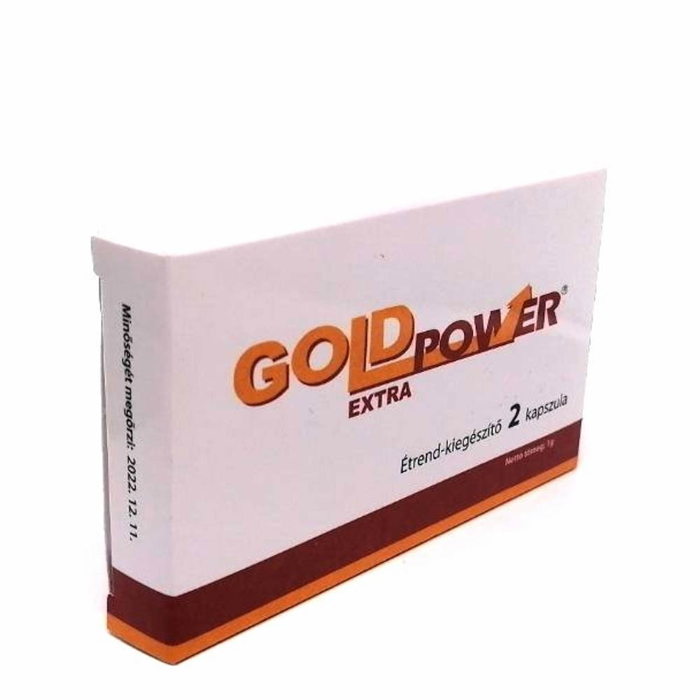 GOLD POWER EXTRA  - 2 pcs