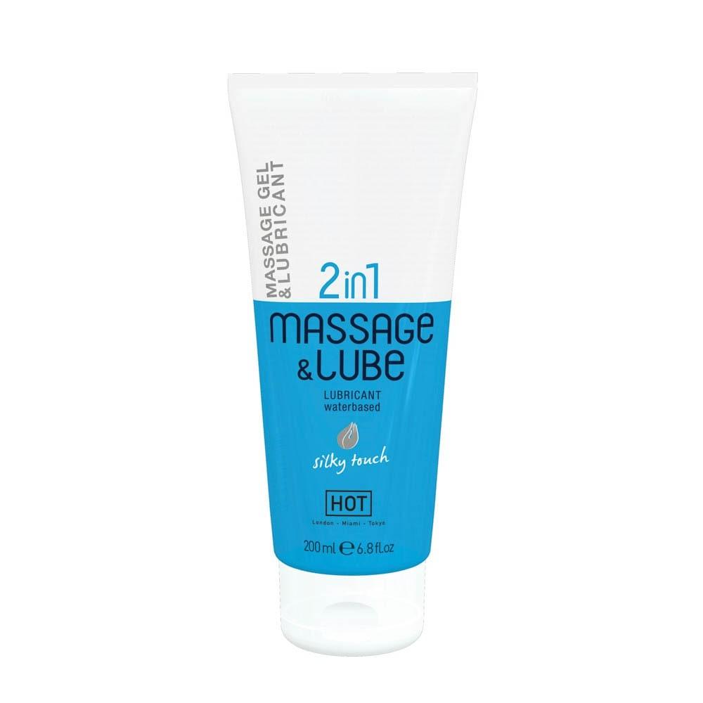 HOT Massage & Glide Gel 2in1 Silky Touch  200 ml