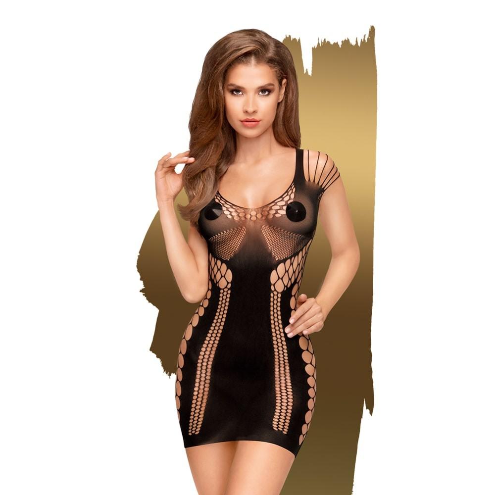 Секси рокля с множество кръгли отвори – Juicy Poison XL