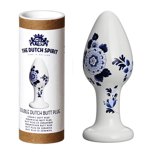 Порцеланов анален плъг, 7см. – The Dutch Spirit