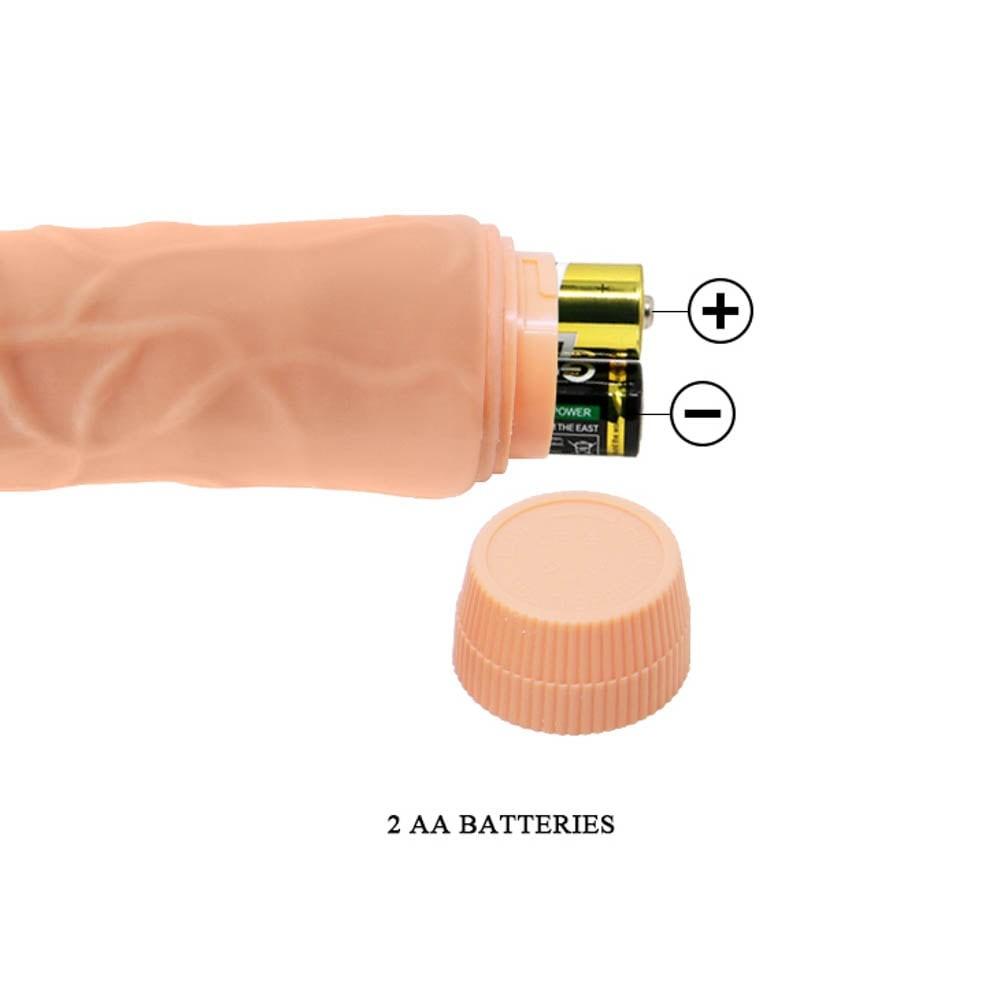 Barbara Jeff  Realistic Multi-Speed Vibrator 7