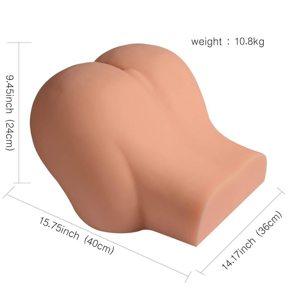 Huge full big ass masturbator