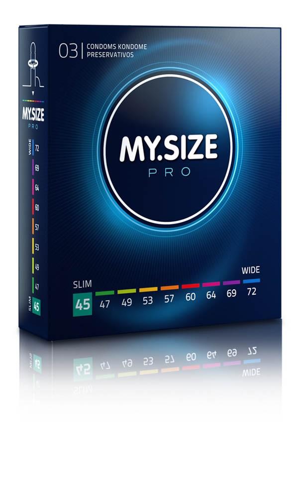 MY SIZE PRO Condoms 45 mm (3 pieces)