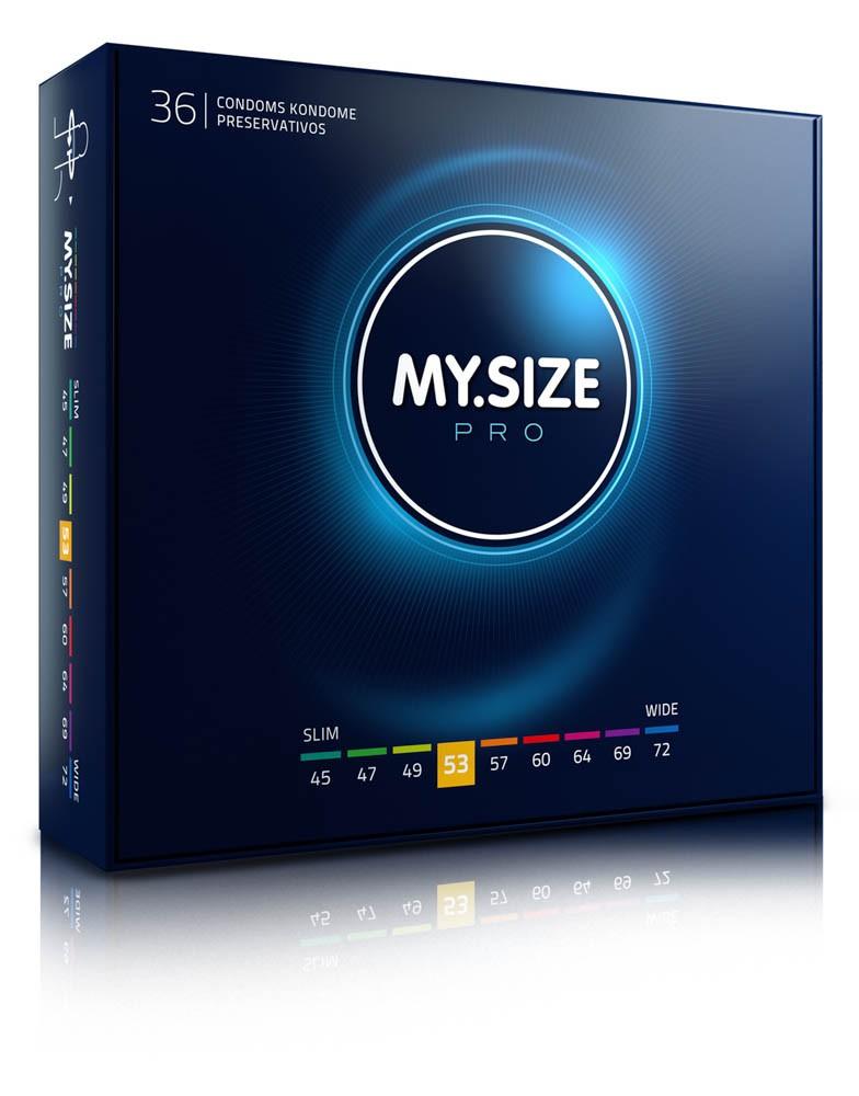 MY SIZE PRO Condoms 53 mm (36 pieces)