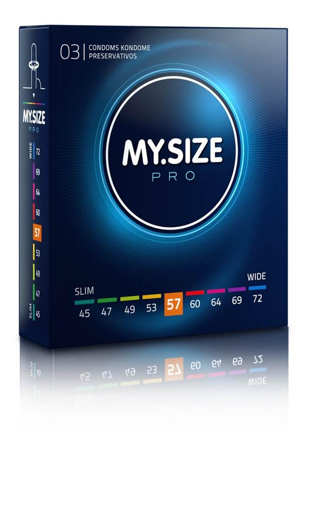 MY SIZE PRO Condoms 57 mm (3 pieces)
