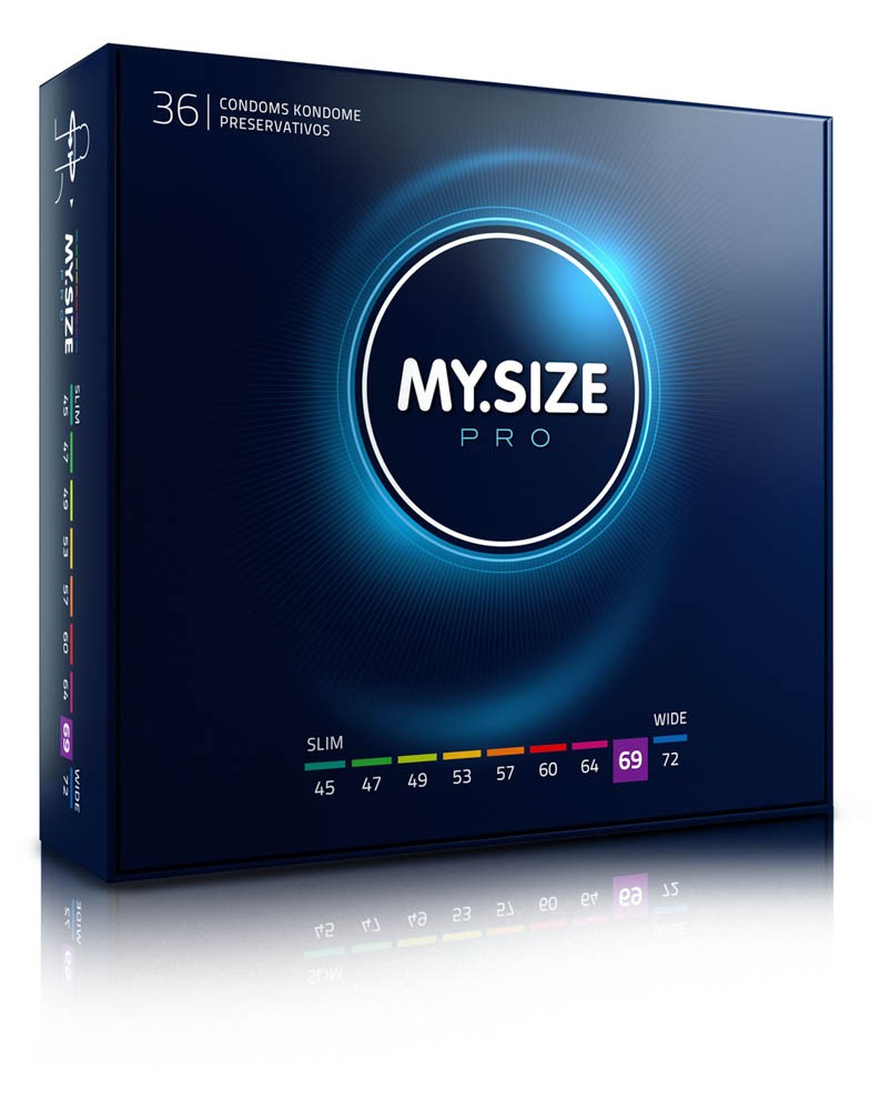 MY SIZE PRO Condoms 69 mm (36 pieces)