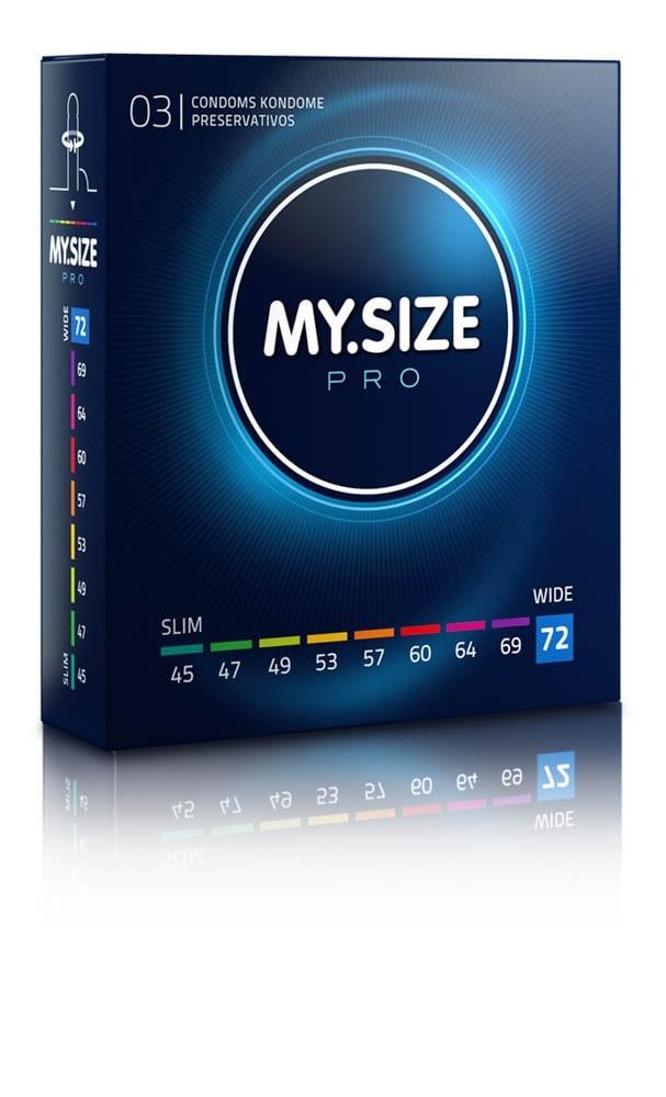 MY SIZE PRO Condoms 72 mm (3 pieces)