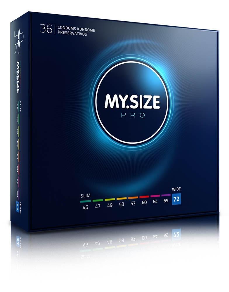 MY SIZE PRO Condoms 72 mm (36 pieces)