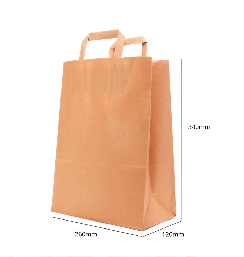 Paper Bag - 260x340x120 mm